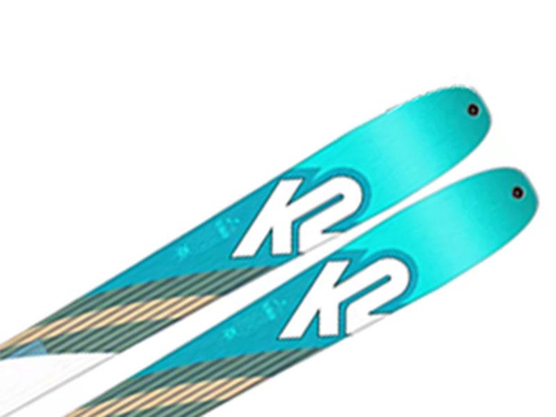 K2 Foki + WAYBACK Long Narty Marker Talkback Wiązania skiturowe Alpinist / K2 88 2021 9 + Travel 2021 88 TALKBACK 2020