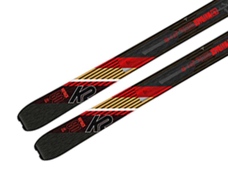 K2 Long 80 Marker K2 2021 Alpinist skiturowe 80 WAYBACK Foki Narty + Wiązania 2021 Wayback 9 2020 + Travel