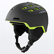 Kask HEAD REV Black Lime 2021