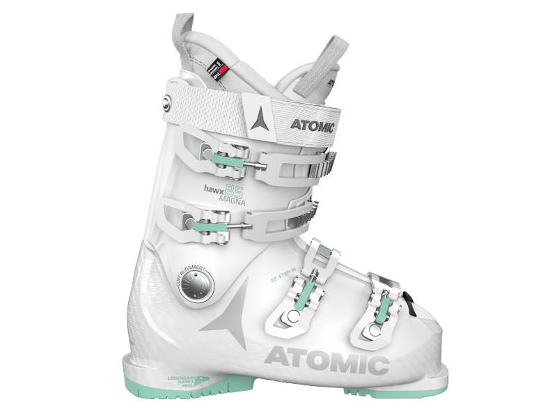 2021 Atomic White wiązanie 85 White Mint HAWX 10 EZY2 Buty + Narty + MAGNA Heaven 2018 Lithium Atomic W Zestaw