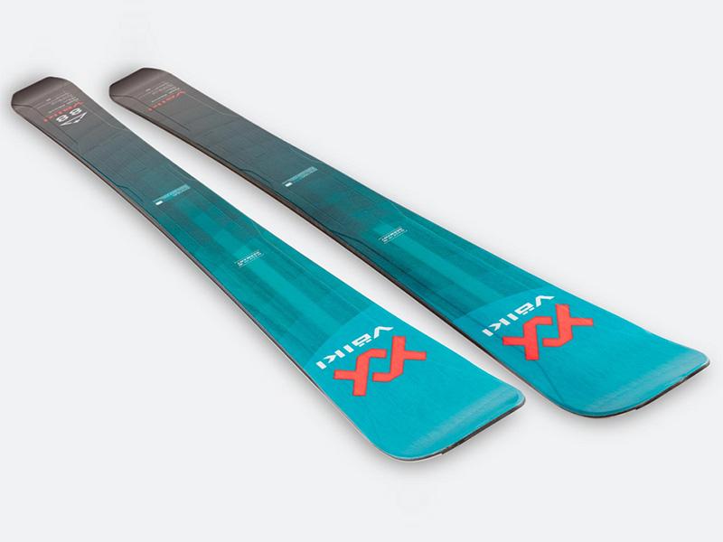 Narty 2021 Alpinist Long 88 Above + Rise Volkl 9 Foki Wiązania Travel Marker Rise + 88 Volkl Above Skin 2021