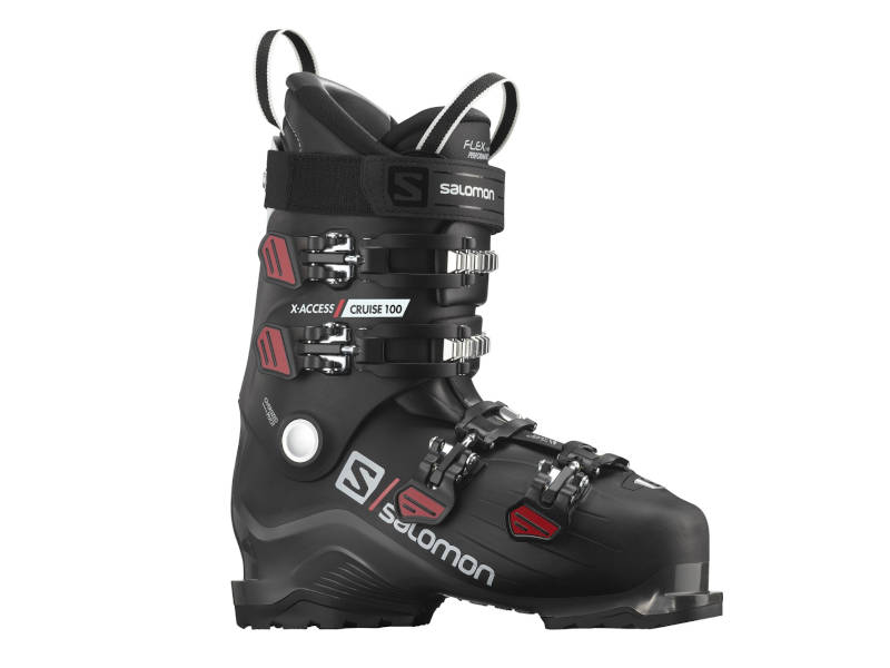 Buty Salomon X Access 100 Cruise Black Anthracite Red 2021