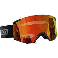 Gogle Salomon S/VIEW Black Brand/Unversal Mid Red L41153100 2021