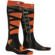 Skarpety X-Socks Ski Control 4.0 Anthracite Melange / Orange G047 2021