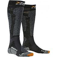 Skarpety X-Socks Carve Silver 4.0 Anthracite Melange / Black Melange G036 2021