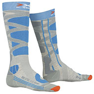 Skarpety Damskie X-Socks Ski Control 4.0 Gray / Blue G160 2021