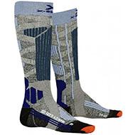 Skarpety X-Socks Ski Rider 4.0 Grey Blue G230 2021