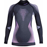 Damska koszulka termoaktywna UYN Evolutyon Mela/Rasp/Purple 2021