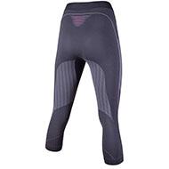 Damskie spodnie termoaktywne UYN VISYON 3/4 Char/Raspb/white 2021