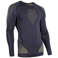 Męska koszulka termoaktywna UYN Evolutyon uw Shirt Charcoal/Gold/Atlantic 2021