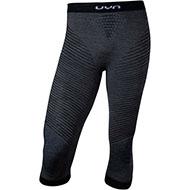 Męskie spodnie termoaktywne UYN 3/4 FUSYON UW Grey York/Aviol/White 2021
