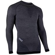 Koszulka termoaktywna męska UYN FUSYON  UW Shirt Grey York/Aviol/White 2021