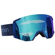 Gogle Salomon S/VIEW BlackBrand/LoLight L.Blue L41190800 2021