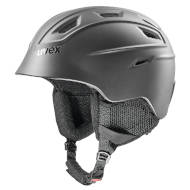 Kask Uvex Fierce Black Mat 2021