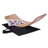 Deska do balansowania dla dzieci KidiBoard Balance Board + pokrowiec + naklejki dla chłopca