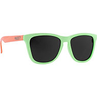 Okulary Majesty M+ avocado/powder pink with smoke lenses 2021