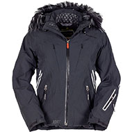 Kurtka Narciarska Damska Bergson Icebird STX Black 2021