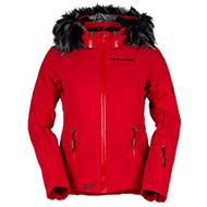 Kurtka Narciarska Damska Bergson Snowswift STX Chinese Red cr1 2021
