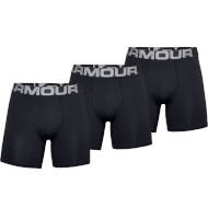 Bokserki Under Armour Rival Charged Cotton 3 Pack Black 2021