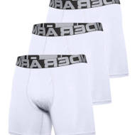 Bokserki Under Armour Rival Charged Cotton 3 Pack White 2021