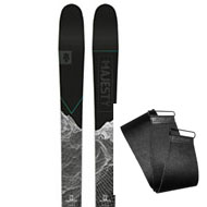 Narty Majesty Superwolf Carbon + Foki Majesty Hybrid Skins Sigma 2021