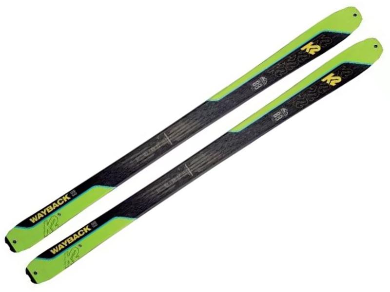 WAYBACK / Foki 88 88 Narty Wayback + 2021 skiturowe K2 2021 K2 TALKBACK
