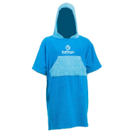 Ponczo do morsowania Surf Logic Junior Cyan Turquoise