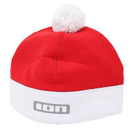 Czapka neoprenowa 2,5mm do morsowania ION Neo Bommel Beanie Red White