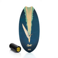 Trickboard Surfer Wave Split