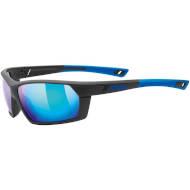 Okulary Uvex Sportstyle 225 Black Blue Mat 2416 2021