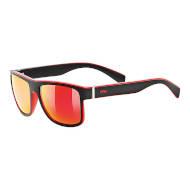 Okulary Uvex Lgl 21 Black Mat Red 2213 2021