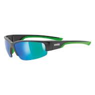 Okulary Uvex Sportstyle 215 Black Mat Green 2716 2021