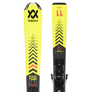 Narty Volkl Racetiger Jr Yellow 130-160 + wiązania VMotion 4.5 [120465] 2022