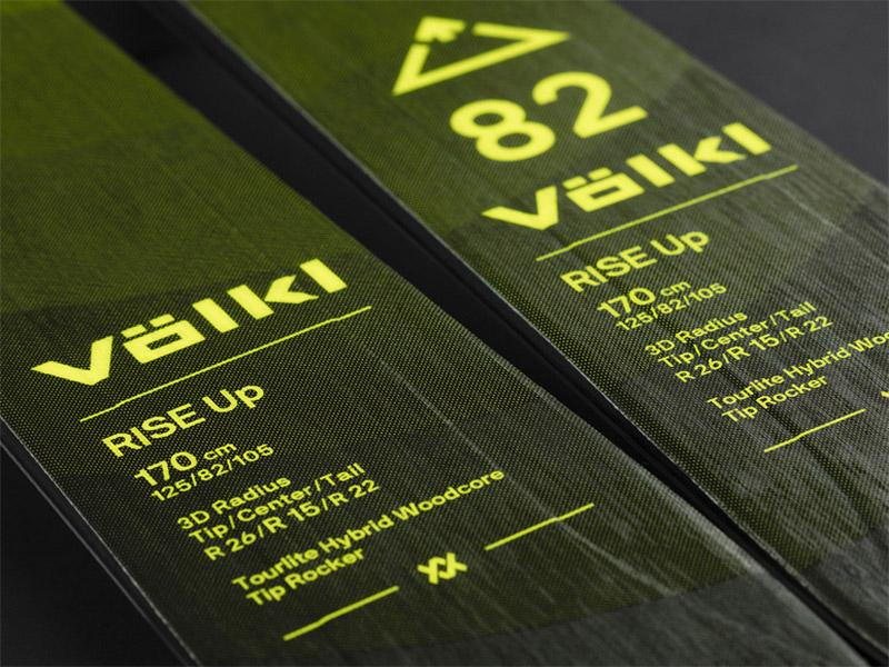 82 2022 Volkl Skin Up 2022 + Narty 82 Rise Up Foki Rise