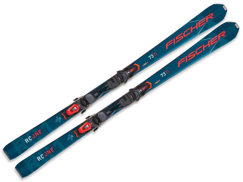 Narty Fischer RC One 73 Allride + wiązania RS 11 GW PR 2022