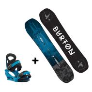Zestaw Burton Process Smalls + wiązania Mission Smalls Blue Boy 2018