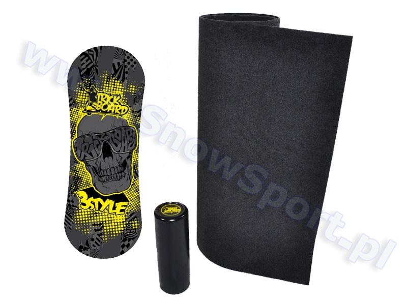 Skull Black +  Trickboard dywan