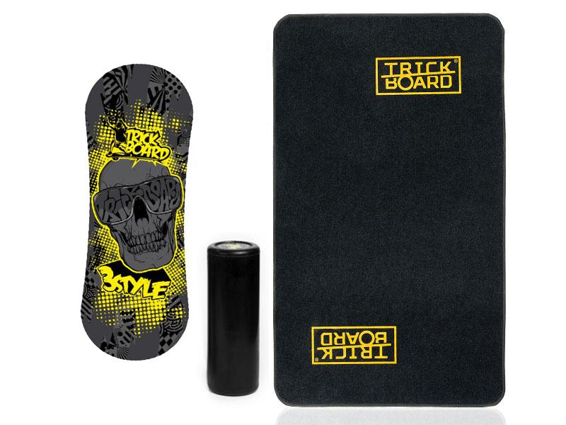 Trickboard do Dywan Trickboarda Skull + Black