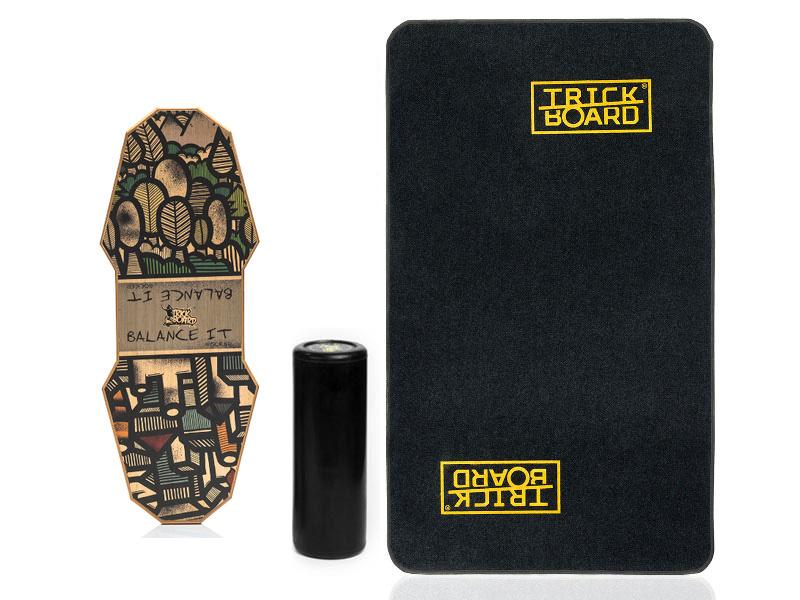 New Trickboard + Trickboarda do Dywan It Blalance Rocker
