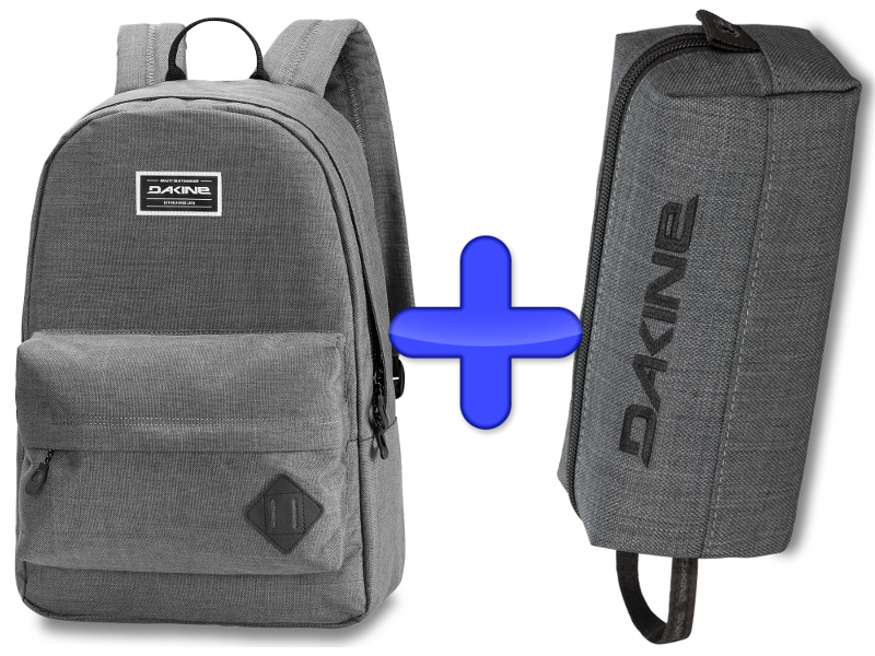 Carbon + 21l Plecak Dakine Pack Zestaw 365 2019 Piórnik F/W