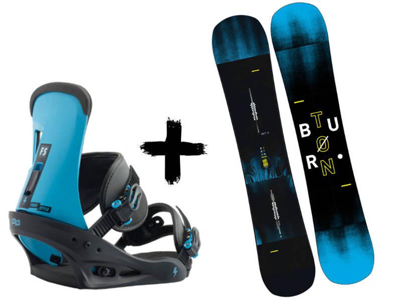 Cobalt Zestaw 2019 + Freestyle Blue Burton wiązania Instigator