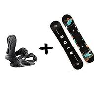 Zestaw Deska RIDE Heartbreaker + Wiązania Ride Lxh 2020