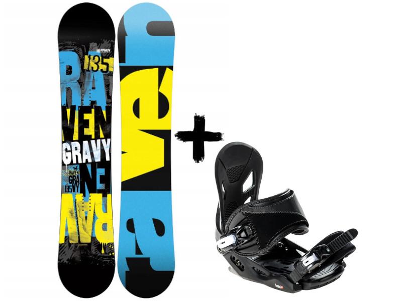 Junior Deska Raven 2020 Zestaw Gravy