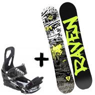 Zestaw Raven Deska Core Junior + Wiązania S200 Black 2020