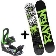 Zestaw Raven Deska Core + Wiązania S200 Green 2020