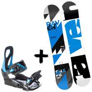 Zestaw Raven Deska Shape + Wiązania S200 Blue 2020