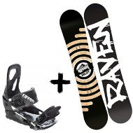 Zestaw Raven Deska Relict + Wiązania S200 Black 2020