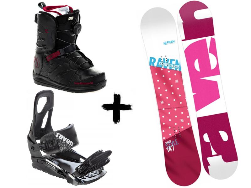 deska buty S200 2020 Pink Northwave Spin Zestaw + wiązania Helix Raven Style +