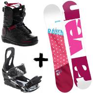 Zestaw Raven deska Style Pink + wiązania S200 + buty Northwave Helix Spin 2020