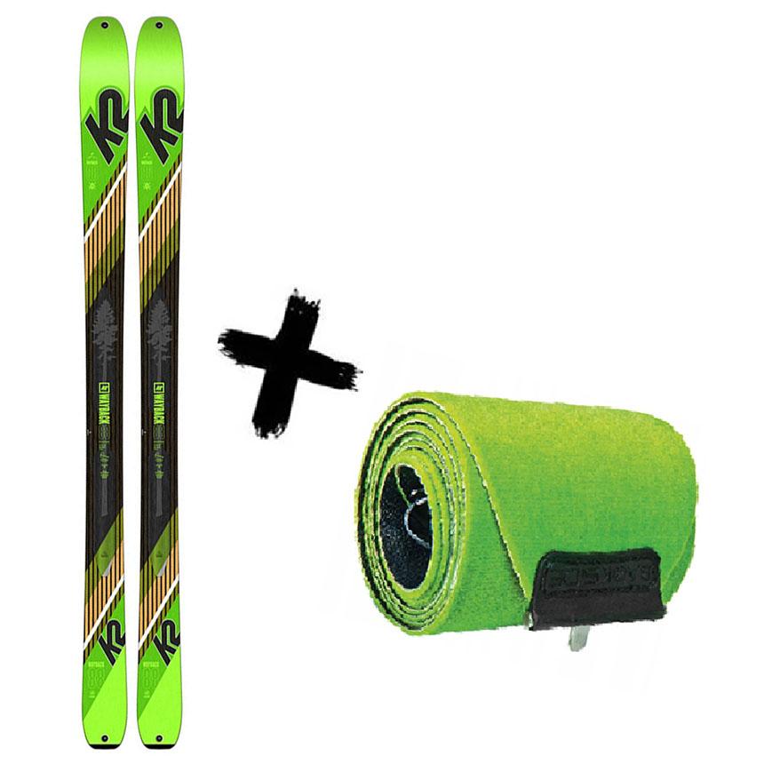 2021 88 88 WAYBACK Narty K2 K2 TALKBACK / + 2020 skiturowe Foki Wayback